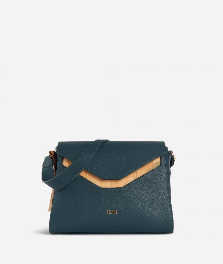 Sky City Hobo Bag Teal