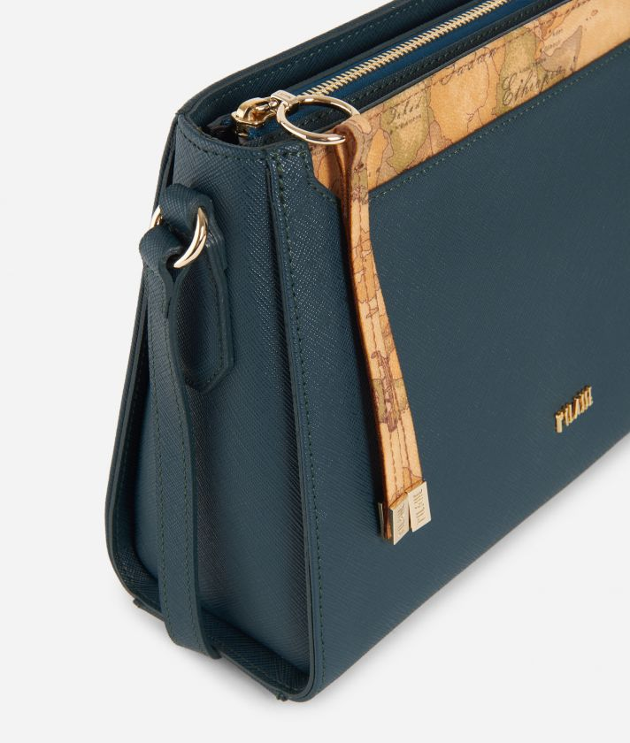 Sky City Crossbody bag Teal