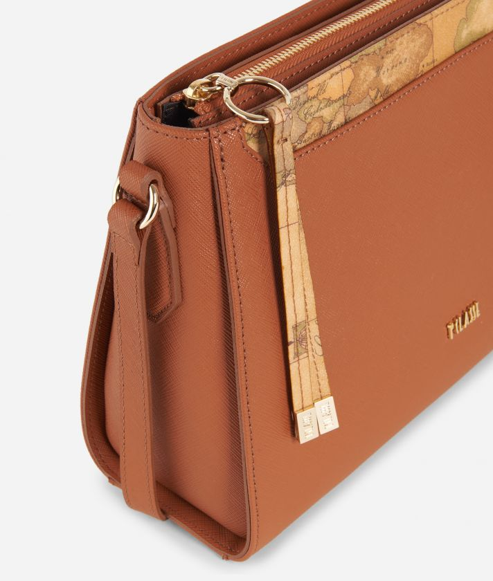 Sky City Crossbody bag Walnut