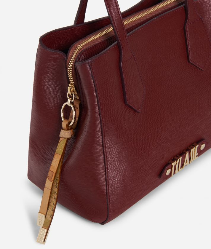 Winter Smile Small Handbag Cabernet