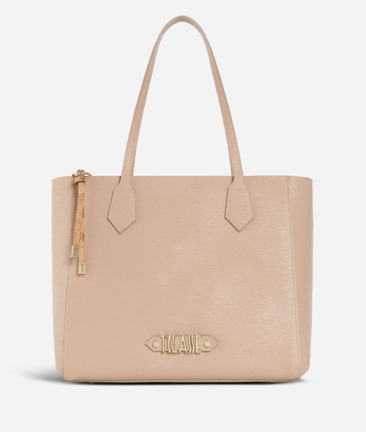 Winter Smile Shopping bag Crema