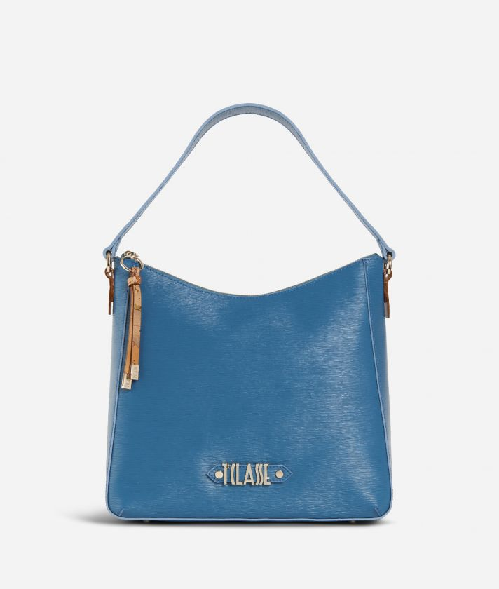 Winter Smile Hobo bag Blue