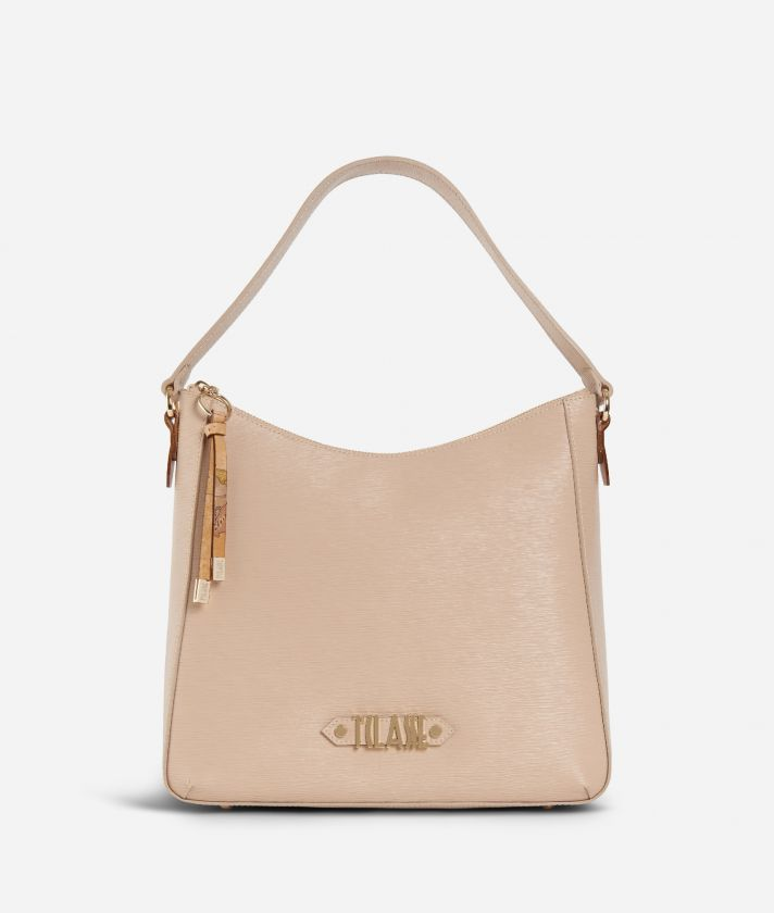 Winter Smile Hobo bag Cream