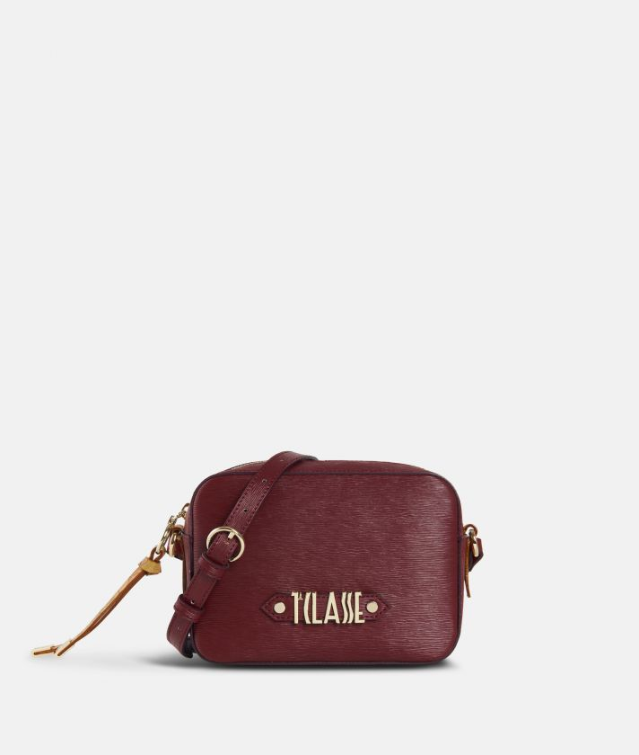 Winter Smile Crossbody bag Cabernet