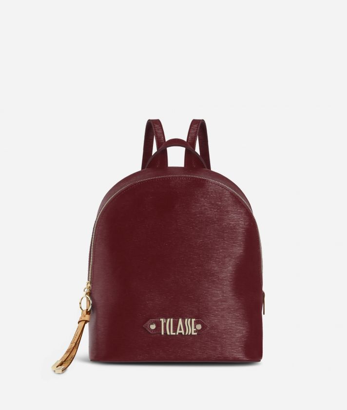 Winter Smile Backpack Cabernet