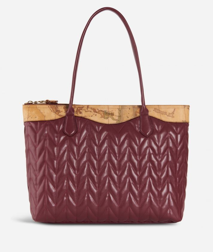 Moonlight Shopping bag Bordeaux