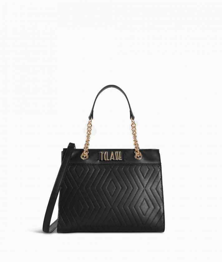 Starlight Line Small Handbag Black