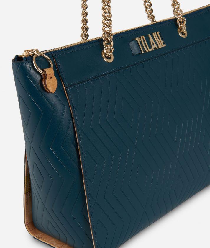 Starlight Line Shopping bag Teal