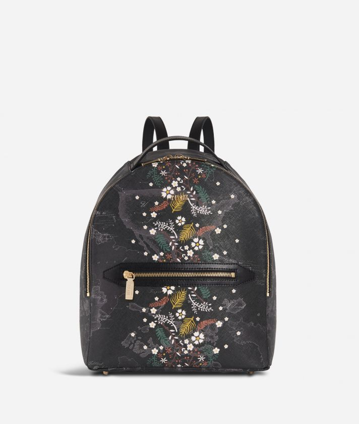 Autumn Night Backpack Black