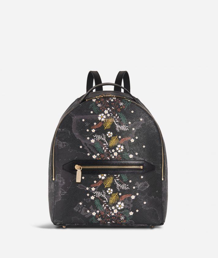 Autumn Night Backpack Black