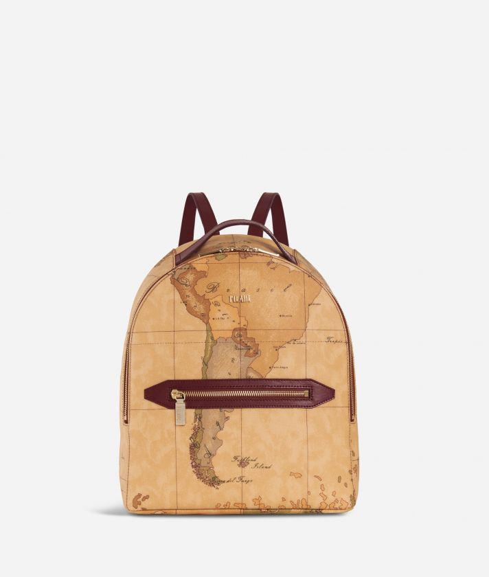 Autumn Geo Backpack Cabernet
