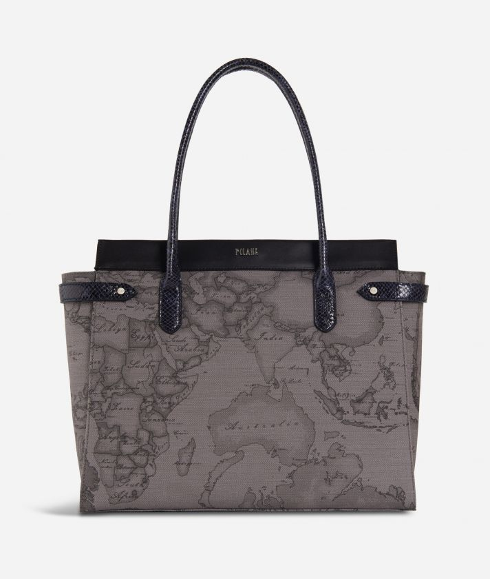 Fantasy Dark Shopping bag Black