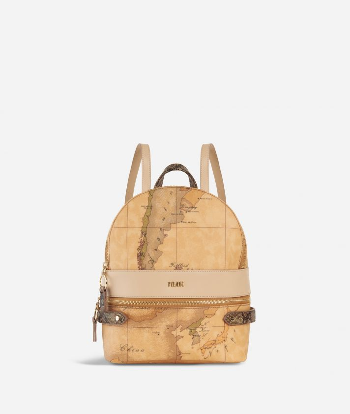 Fantasy Geo Backpack Cream