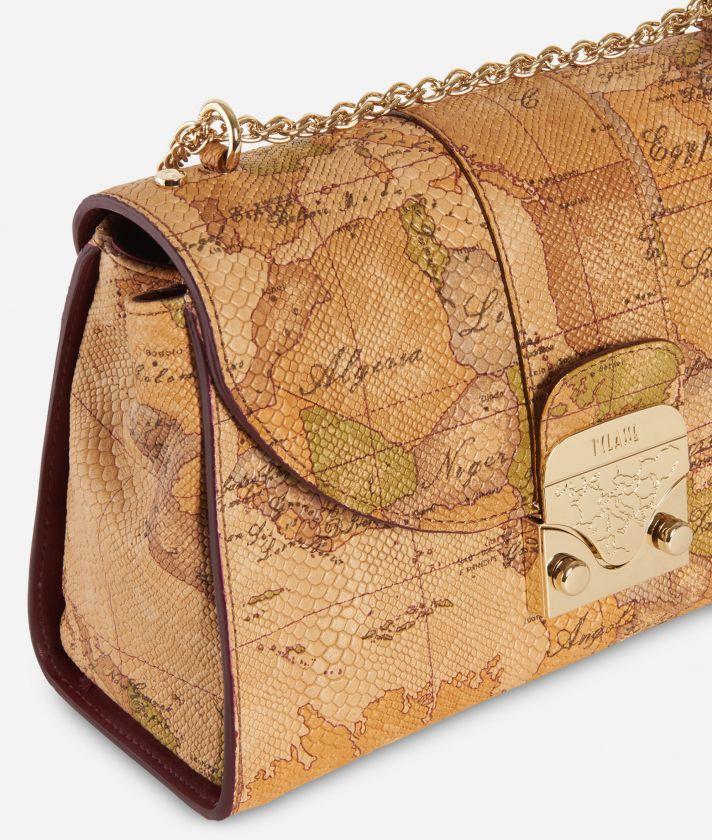 Dream Bag Geo Classic Crossbody Bag Natural Tan