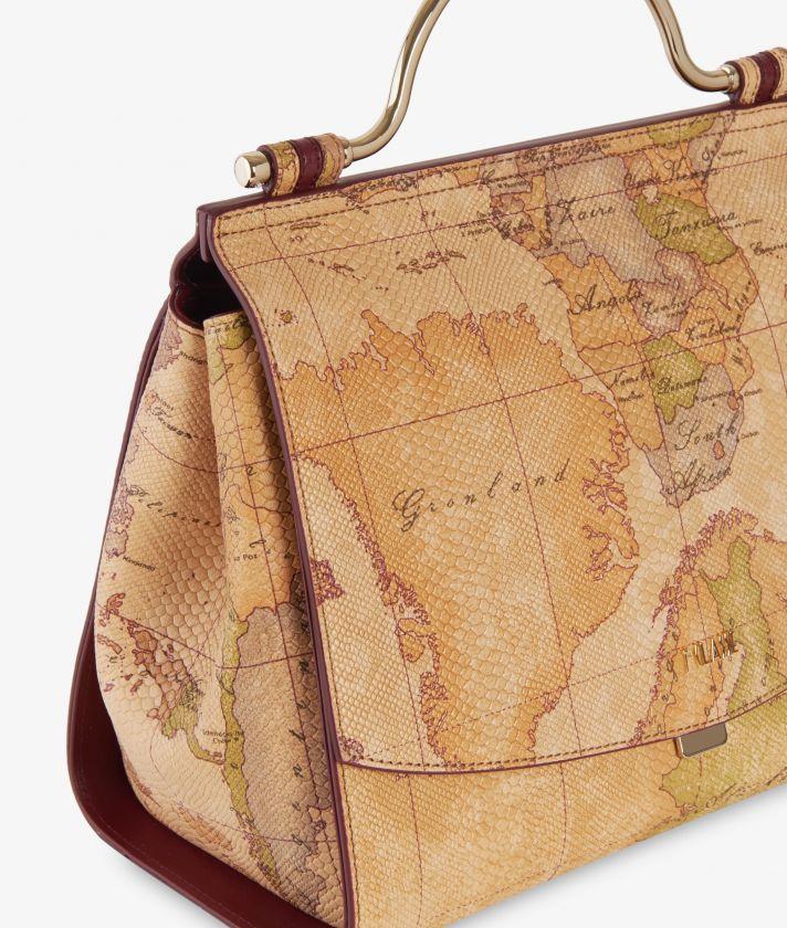 Polar Star Geo Classic Handbag Natural Tan