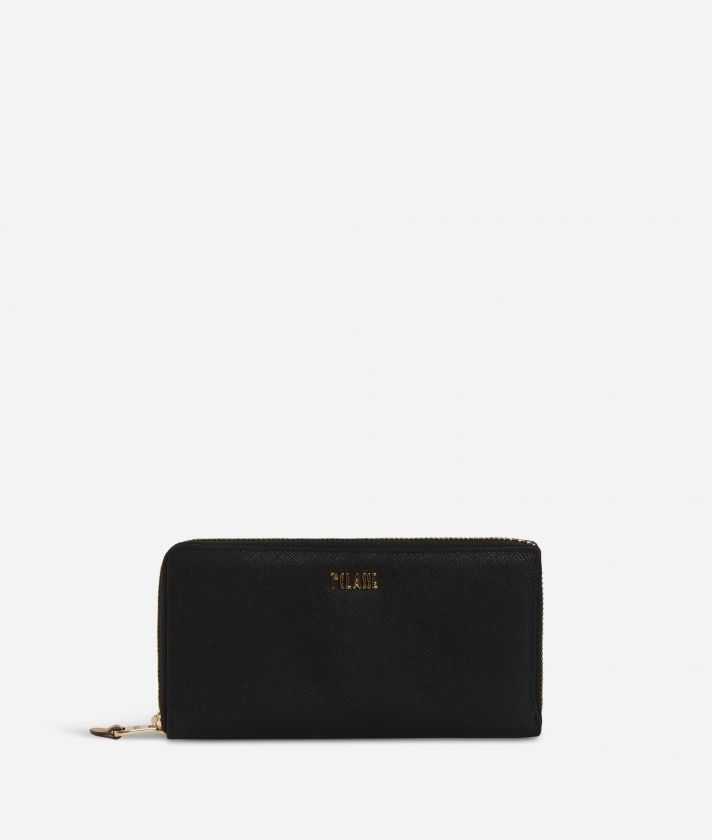 Sky City Ziparoud wallet Black