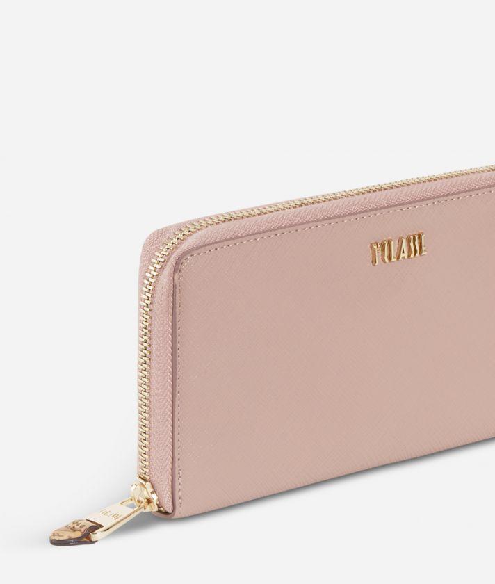 Sky City Ziparound wallet Boreal Pink