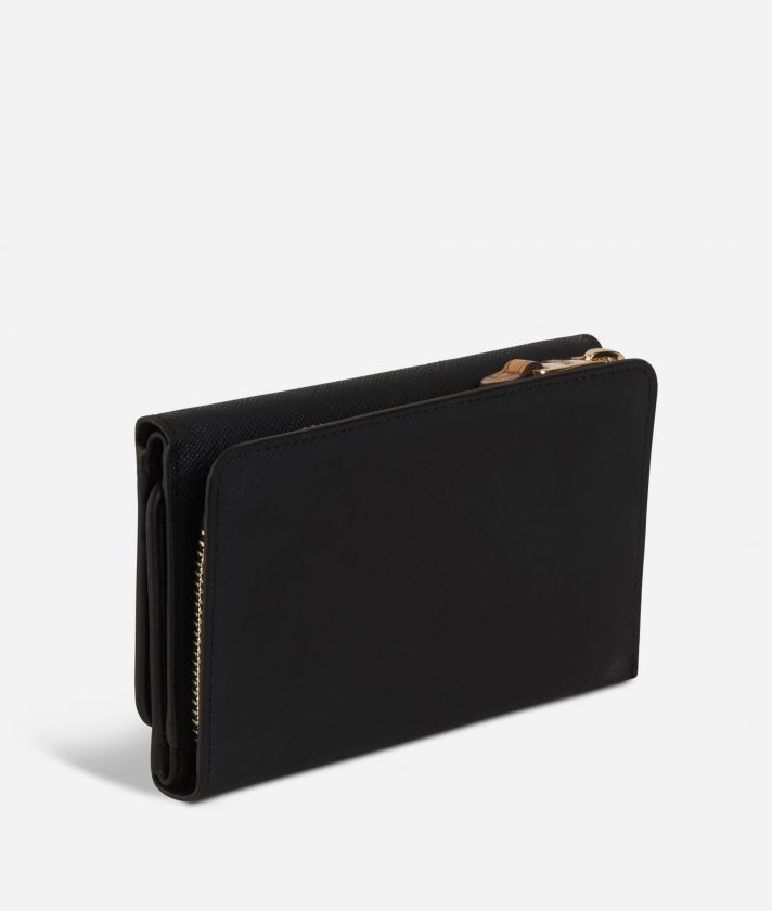 Sky City Wallet Black