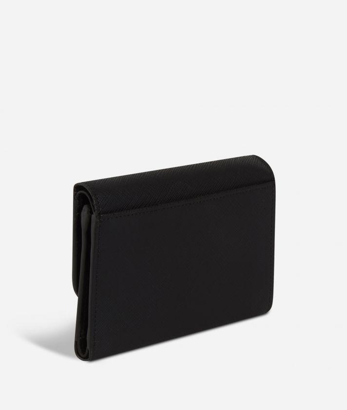 Sky City Small Wallet Black