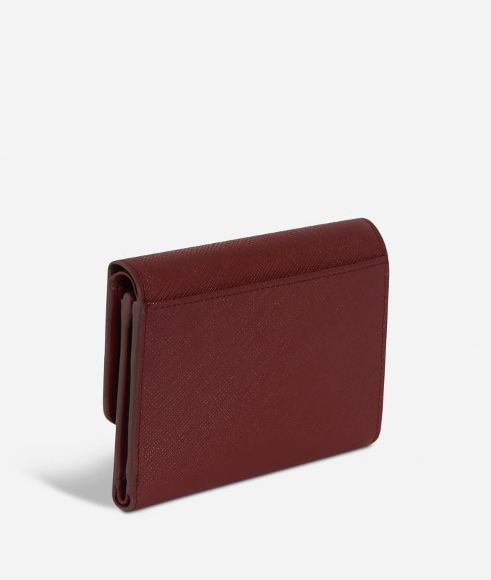 Sky City Small Wallet Cabernet