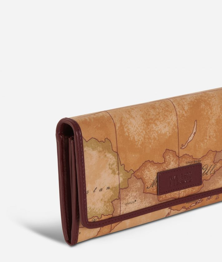 Soft Wood Wallet Cabernet