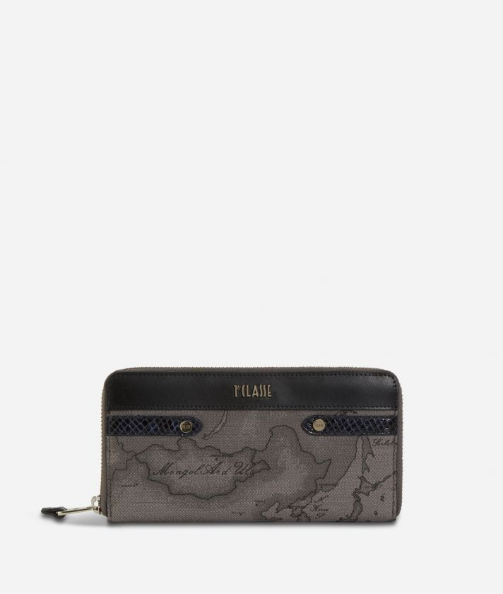 Fantasy Dark Ziparound Wallet Black