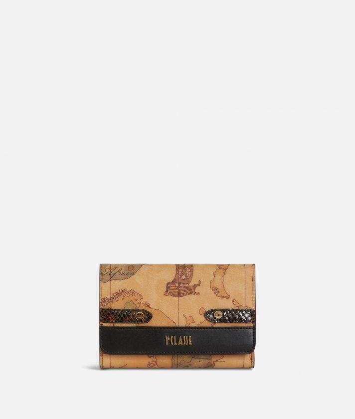 Fantasy Geo Bifolder Wallet Black