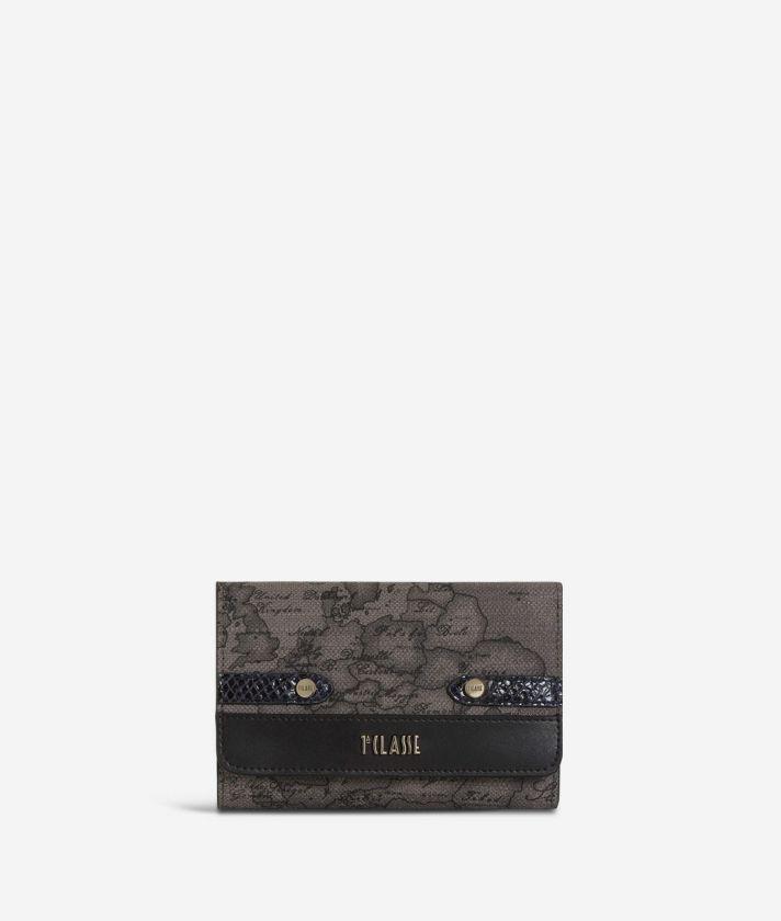 Fantasy Geo Bifolder Wallet Cream