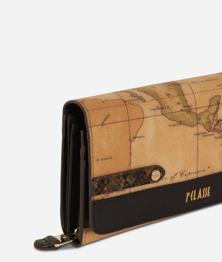 Fantasy Geo Wallet Black