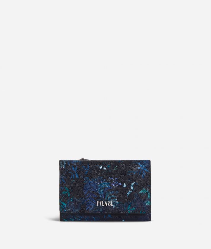Magic Forest Bifolder Wallet Blueberry