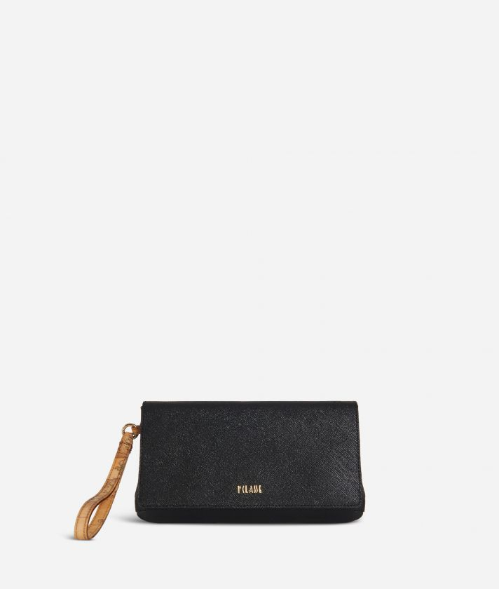 Sky City Clutch Black