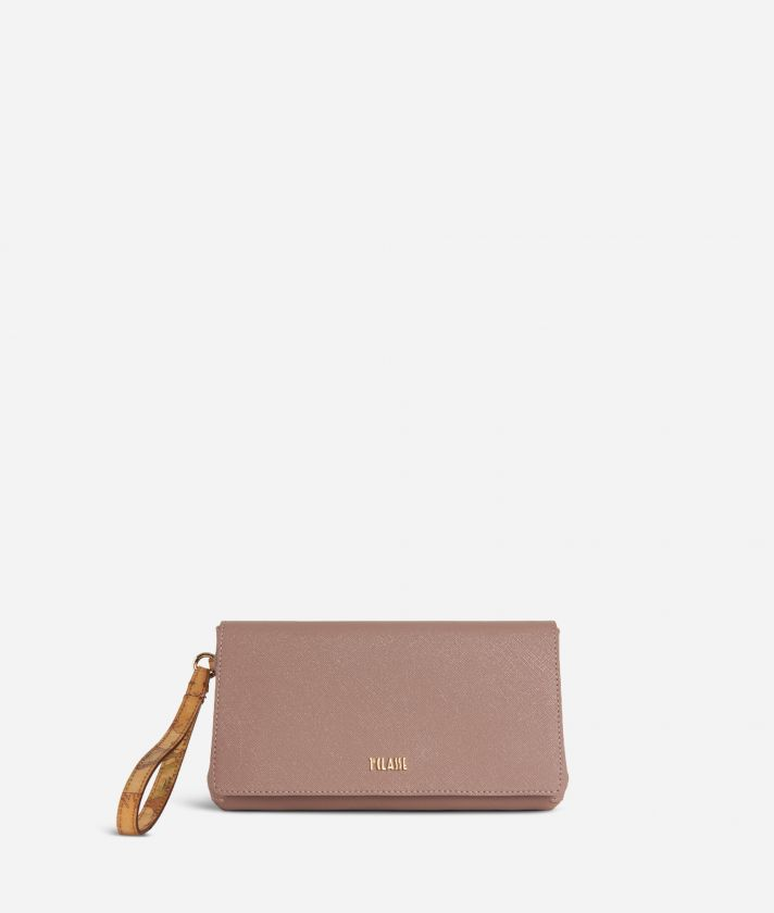 Sky City Clutch con polsiera Rosa