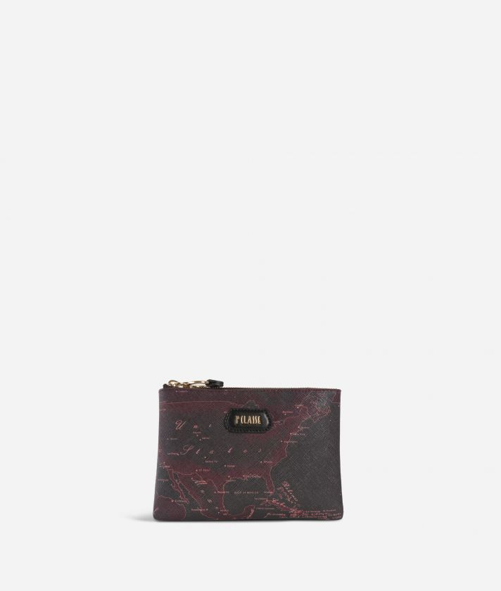 Geo Rosewood Pouch Cabernet