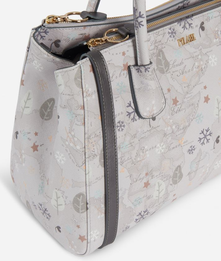 White Snow Handbag White