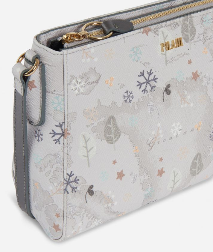 White Snow Crossbody Bag White