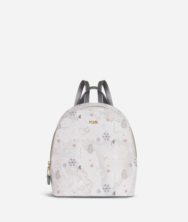 White Snow Backpack White