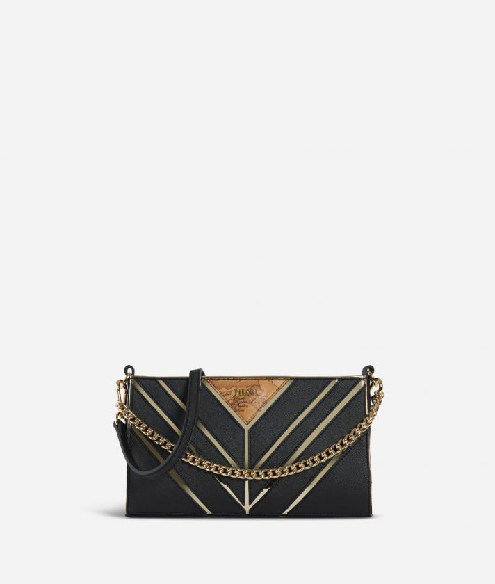 Jewel Bag Crossbody bag with chain Black