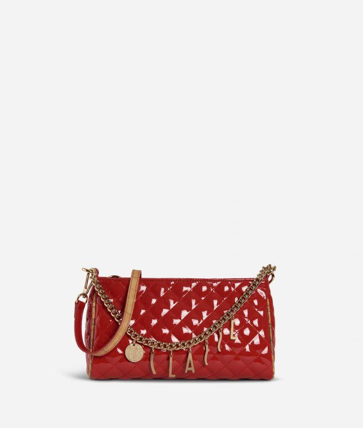 Jewel Bag Tracollina matelassé Rossa