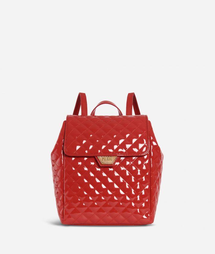 Sparkling Backpack Red