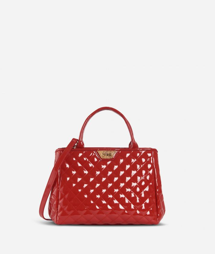Sparkling HandBag Red