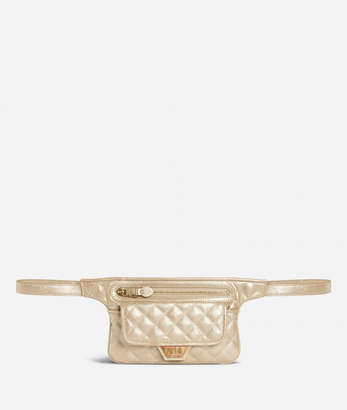 Sparkling Belt Bag Gold