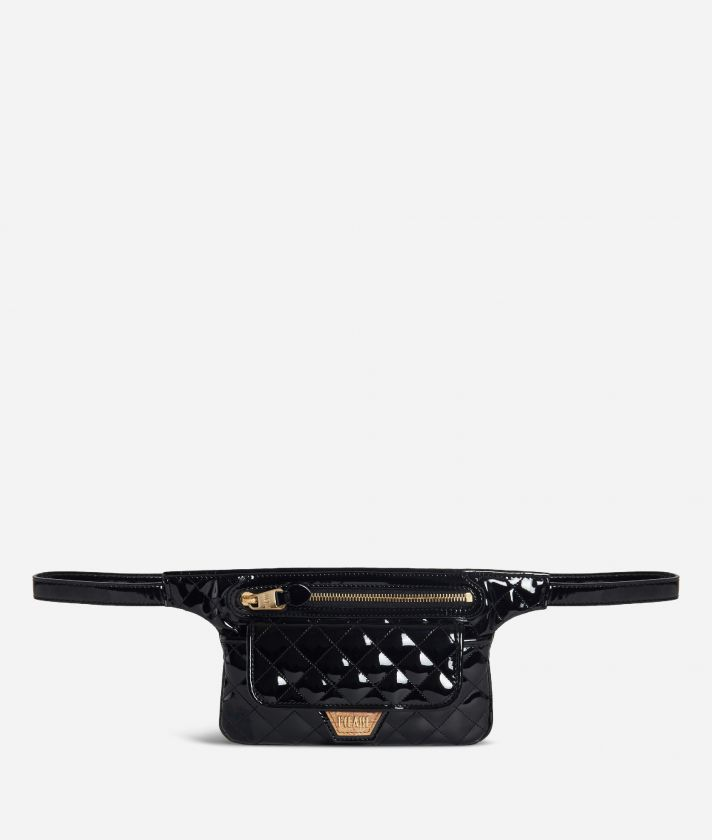 Sparkling Belt Bag Black