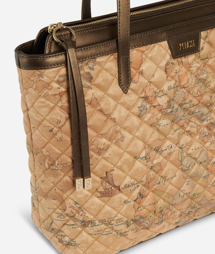 Artic Map Borsa Shopping Bronzo