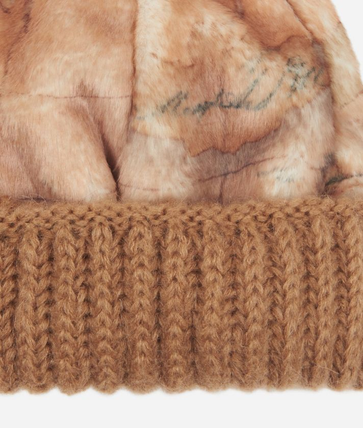 Artic Map Eco-fur Beanie