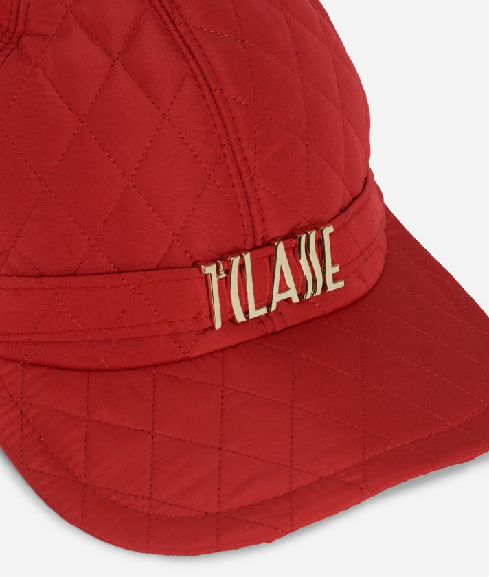 Sparkling Baseball Cap Red