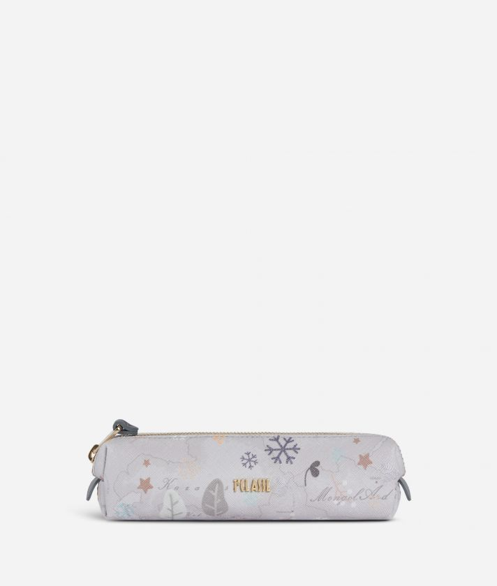 White Snow Pencil-case White