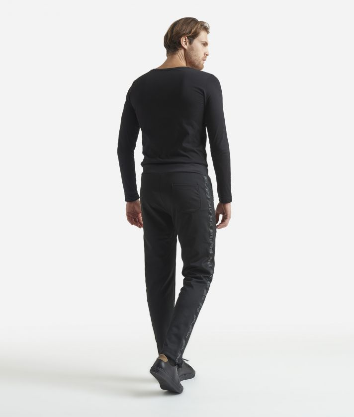 Sporty trousers Black