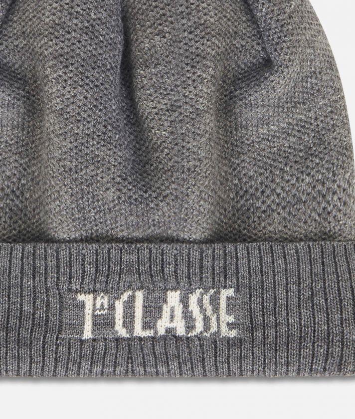 Cappello misto lana Grigio Scuro