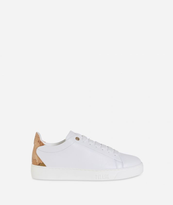 Sneakers in pelle Bianca