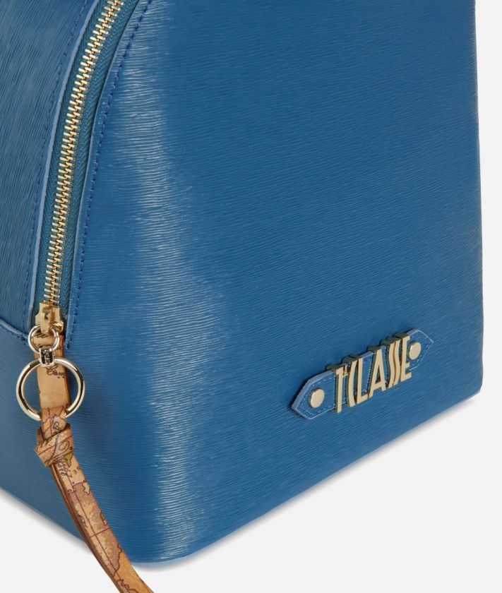Winter Smile Backpack Blue